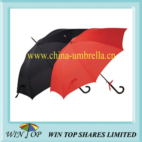 Crystal ladies stick umbrella