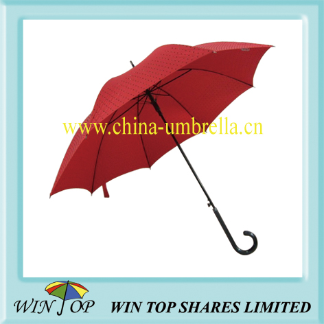 Auto Crystal girl straight umbrella