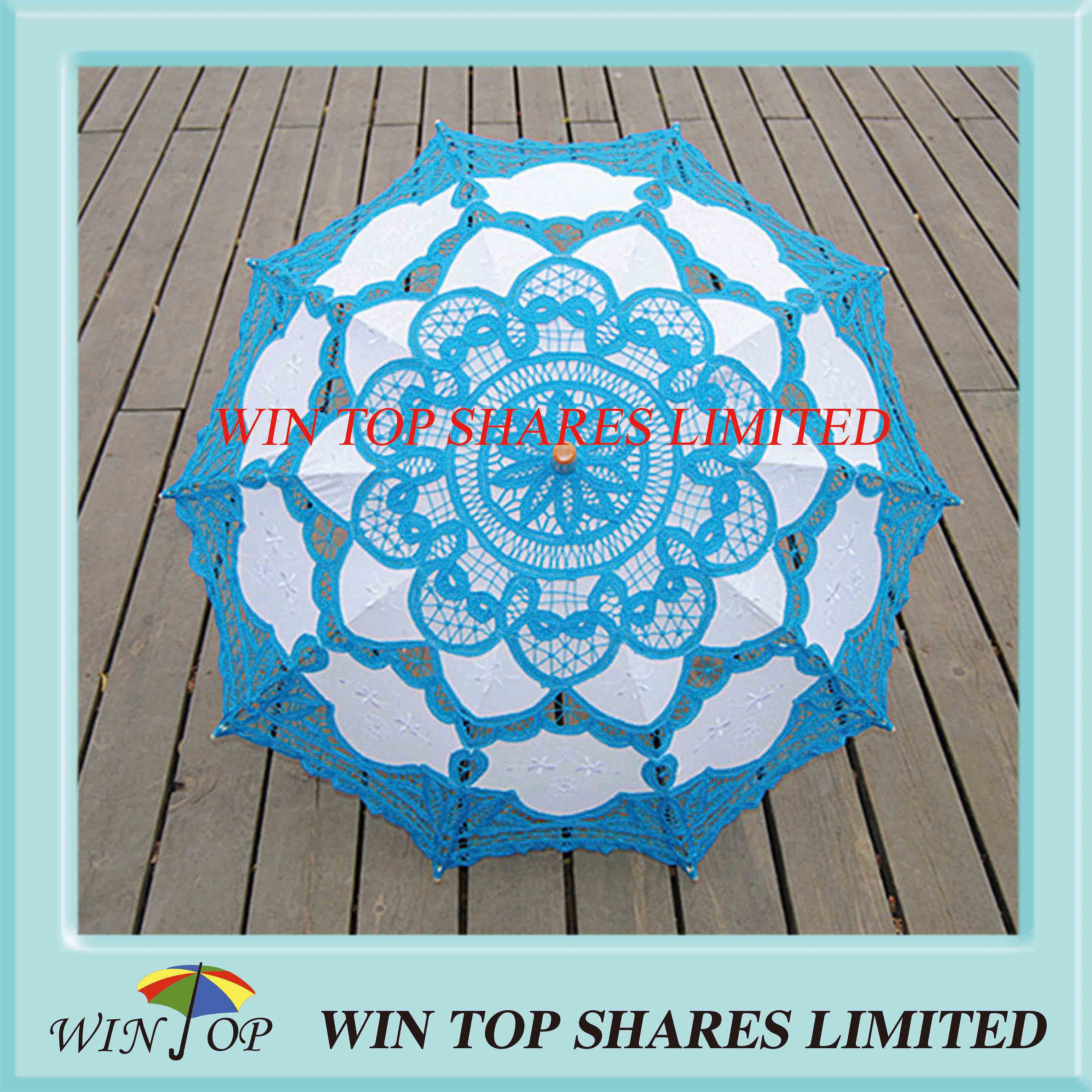 embroidery craft parasol supplier