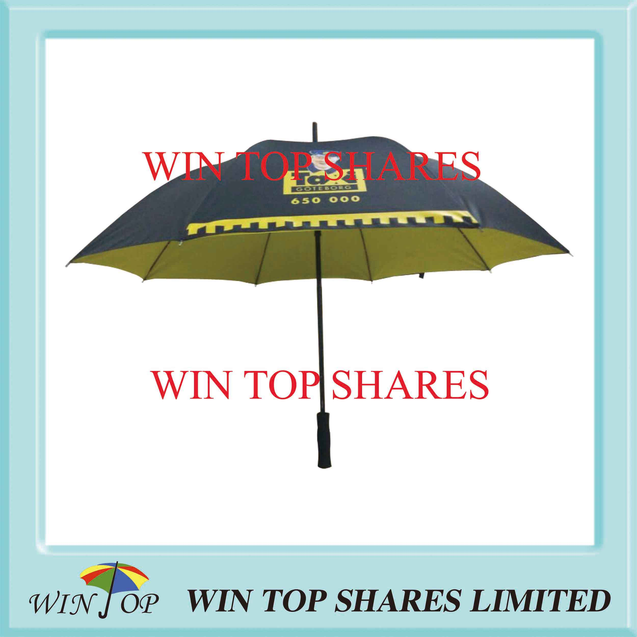 Color adhesive Golf Gift Umbrella with Logo