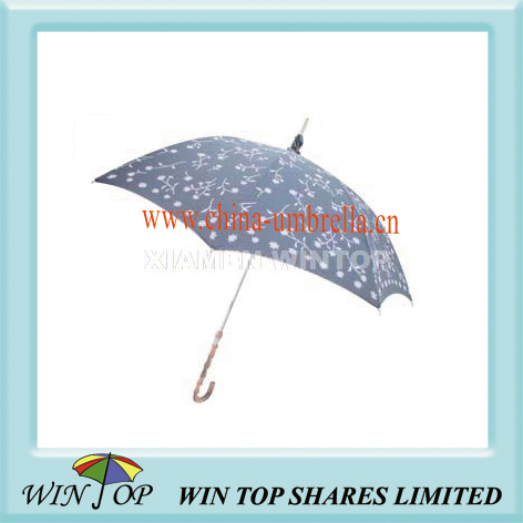"23"" manual ladies sun umbrella, sun parasol"