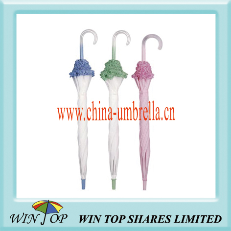 "23"" ladies lace umbrella"