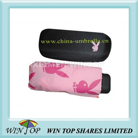 5 folding promotional umbrella for Playboy