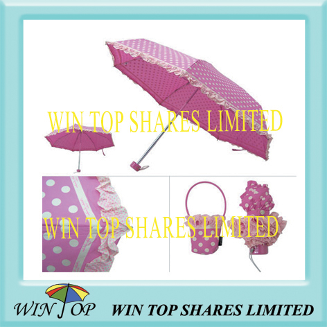 5 folding super mini umbrella